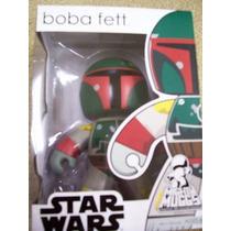 Star Wars Paquete Han Solo Y Boba Fett Mighty Muggs Nuevos