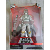Boba Fett Elite Series Star Wars Die Cast Disney Trabucle