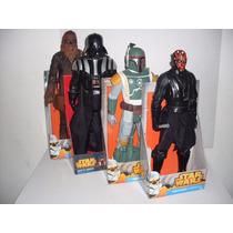 Star Wars Gigantes Darth Maul Darth Vader Chewbacca 50 Cm