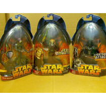 Star Wars Lote Polis Massam & 2 Figura Ep Iii P Comp Ve Desc
