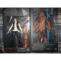Star Wars Black Series 6 Pul. Han Solo Y Chewbacca