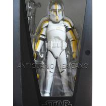 Star Wars Clone Trooper Amarillo Aotc Escala 1/6 Medicom Rah