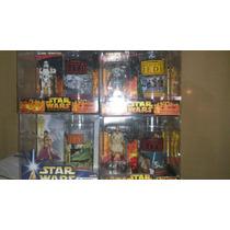 Clone Trooper, Leia Slave, Obi Wan 3 Vasos Hasbro Nuevos