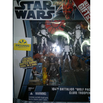 Star Wars Ultimate Gift Set 104th Battalion Wolf Pack Clone