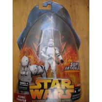 Star Wars Clone Trooper # 4 Saga Revenge Of The Shit