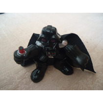 2001 Hasbro Star Wars Galactic Heroes Mini Darth Vader Cut L