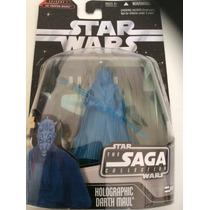 Holographic Darth Maul - Star Wars The Saga Collection