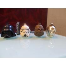 4 Cabezas Star Wars - Portapaletas De Sonrics