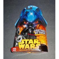 Darth Vader Lightsaber Attack Star Wars Rots Hasbro (2005)
