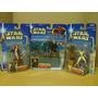 Star Wars Lote Darth Thyranus & 2 Figura 2002 Ve Descrp
