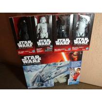 Star Wars Lote 5 Piezas,vader,kylo,halcon,snow,strom
