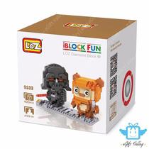 Loz Iblocks (mini Lego Oriental) Starwars Darth Vader + Ewok