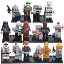 Set De Star Wars Darth Vader Luke Darth Chewbaca Minifiguras