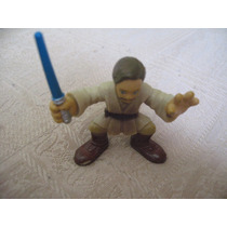 2004 Hasbro Star Wars Galactic Heroes Mini Obi Wan