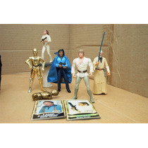 Lote Princesa Leia Bespin & 5 Figura Star Wars Ve Descripc