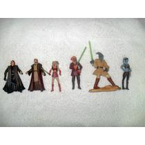 6 Figuras De Star Wars Coleman Trevor Alli Segura Anakin