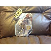 Chewbacca Concepto Moneda Dorada Star Wars Nuevo