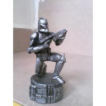 Ficha Ajedrez Clon Trooper Starwars Articulado