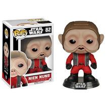 Funko Pop! Star Wars: Episode Vii Nien Nunb Bobble Head