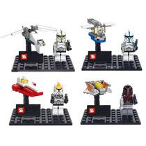 Set De Star Wars Troppers Y Minibites Tipo Lego