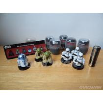 Mini Figuras Bustos Star Wars Huevo Tipo Kinder Yoda R2 Sw29