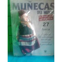 Muñecas Del Mundo De Porcelana Suecia Antiguas Vintage