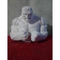 Recuerdos Alcancías De Yeso Ceramico Par Pintar Super Heroes