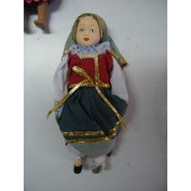 Colección Muñecas Del Mundo De Porcelana Rba 60