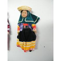Colección Muñecas Del Mundo De Porcelana Rba 45