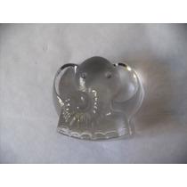 Elefante En Cristal Riedel Pisapapeles Vintage