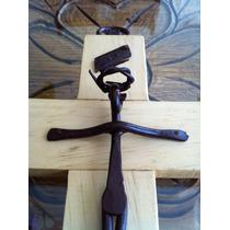 Crucifijo-cruz Fierro Tip Oxidado -hasta 10dic- Envío Gratis
