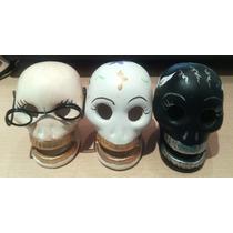 Figuras Calaveritas Halloween, Calavera