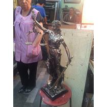 Escultura Figura Estatua Diosa De La Justicia Athenea 73 Cm