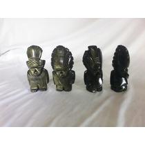 Figura De Obsidiana Dorada De 10cm Vbf