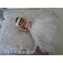 Divina Infantita Con Vestido 25cm Resina Ojito De Cristal