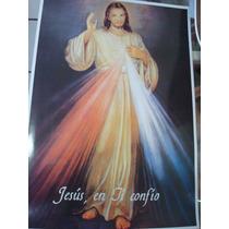 Hoja Tipo Poster Para Cuadro Señor De La Misericordia 28x37