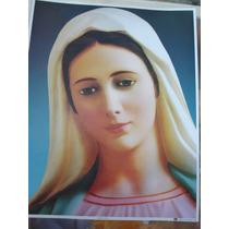 Hoja Tipo Poster Reina Virgen De La Paz De Medugor 20x25