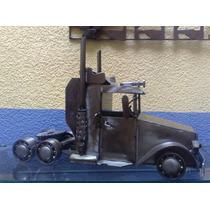 Tractor De Trailer De Fierro