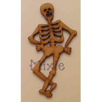 Figura Halloween De Madera Para Decoracion Mdf Corte Láser