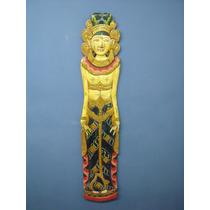 Escultura De Madera-diosa Antigua Del Amor