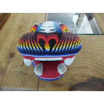 Jaguar; Arte Huichol Genuino.