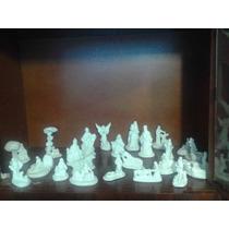 Nacimiento Mini 24 Piezas Yeso Ceramico Para Pintar Alcancia