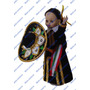 Muñeca Charra Mexicana Tradicional, Traje Hecho A Mano