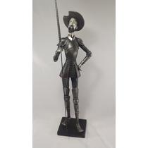 Quijote Rustico De Resina Buen Terminado 60 Cm.