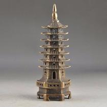 Pagoda De Bronce/zen/feng Shui/7/decora/oficina/casa/buda