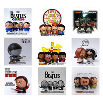 The Beatles, Figuras De Colección Pintadas A Mano.