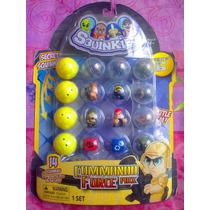 Squinkies Set De Comando Figuras Suavesitas Serie 6