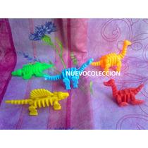 Dinosaurios De La Prehistoria Miniatura Armables