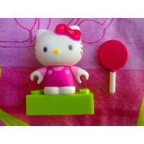 Hello Kitty Miniatura Con Paleta Megablock Serie 2