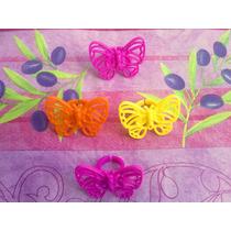 Mariposas Set De Anillos Para Pastel